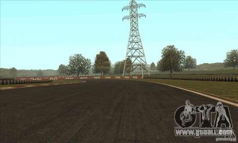 GOKART track Route 2 for GTA San Andreas forth screenshot