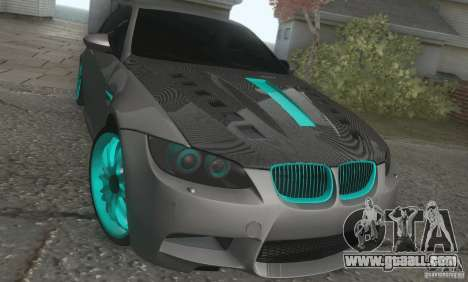 BMW M3 E92 Hellaflush v1.0 for GTA San Andreas