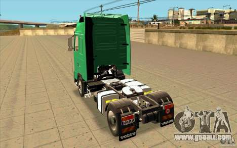 Volvo FH16 Globetrotter Officiel for GTA San Andreas back left view