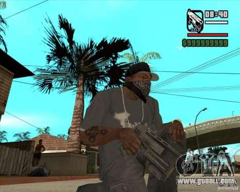 Pak weapons of Fallout New Vegas for GTA San Andreas sixth screenshot