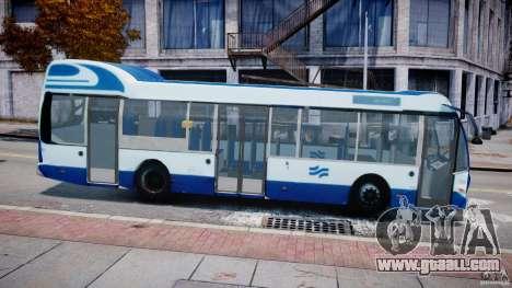 DAF Berkhof City Bus Amsterdam for GTA 4 left view