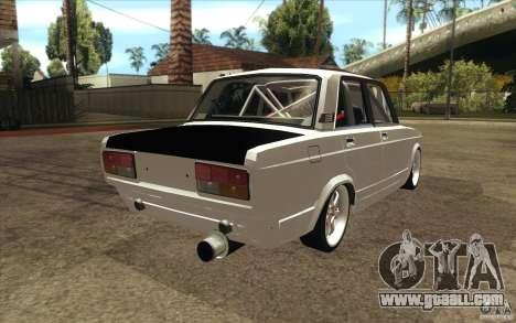 Vaz Lada 2107 Drift for GTA San Andreas side view