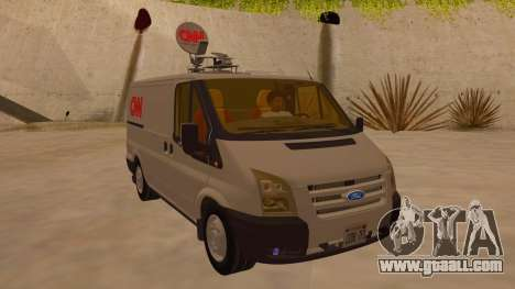 Ford Transit CNN for GTA San Andreas