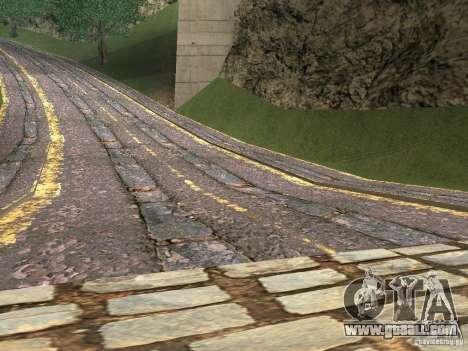 New roads in Vajnvude for GTA San Andreas second screenshot