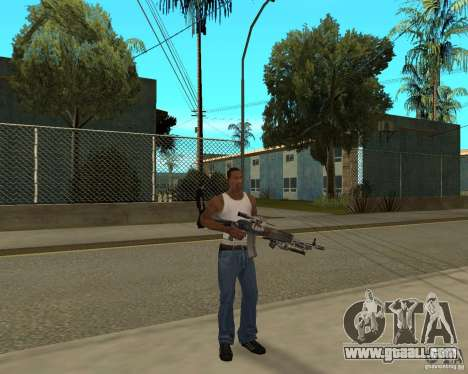 Weapons of STALKERa for GTA San Andreas
