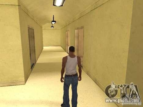 The entrance to the Hospital of Los Santos for GTA San Andreas sixth screenshot