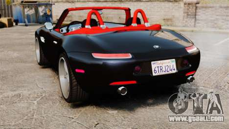 BMW Z8 2000 for GTA 4 back left view