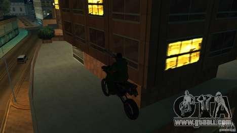 Motorcycle Mirabal for GTA San Andreas right view