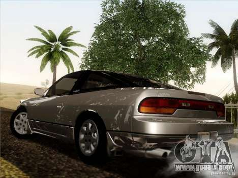 Nissan 240SX S13 - Stock for GTA San Andreas inner view