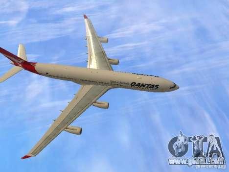 Airbus A340-300 Qantas Airlines for GTA San Andreas