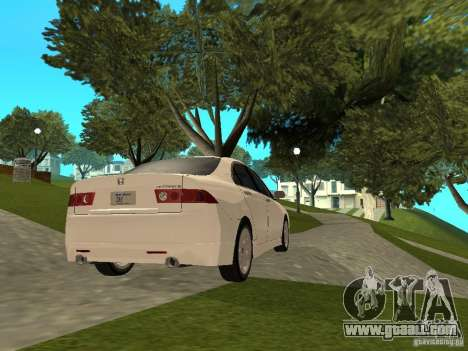 Honda Accord Type S 2003 for GTA San Andreas left view