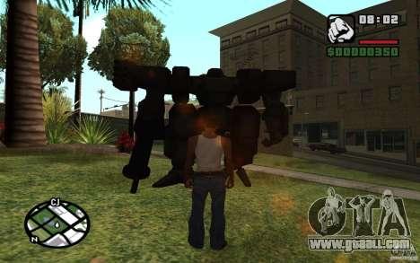 Exoskeleton for GTA San Andreas second screenshot