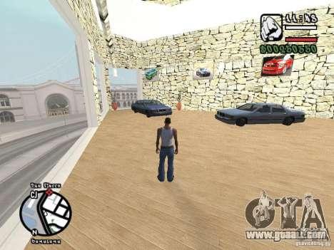 Dodge Salon for GTA San Andreas second screenshot