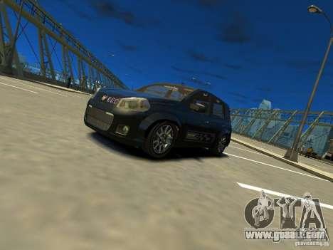 Fiat Novo Uno Sporting for GTA 4