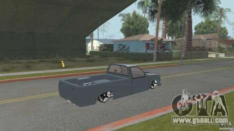 Chevrolet Silverado Mini Truckin 1996 for GTA San Andreas left view