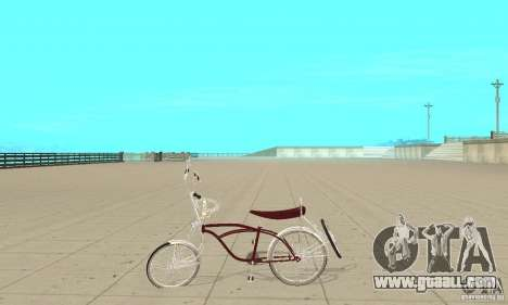 Low Rider Bike for GTA San Andreas left view
