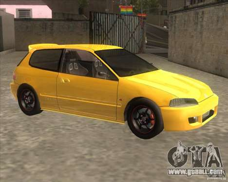 Honda Civic EG6 for GTA San Andreas