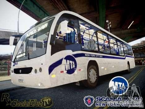 Scania K230 MTA New York City Bus for GTA 4