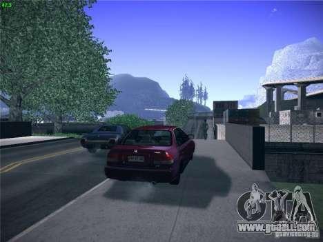 Honda Civic Sedan 1997 for GTA San Andreas left view