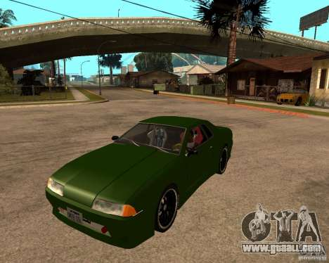 Elegy Green Line for GTA San Andreas