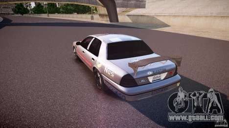 Ford Crown Victoria Tuning (Beta) for GTA 4 back left view