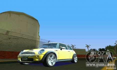 Mini Cooper S for GTA Vice City