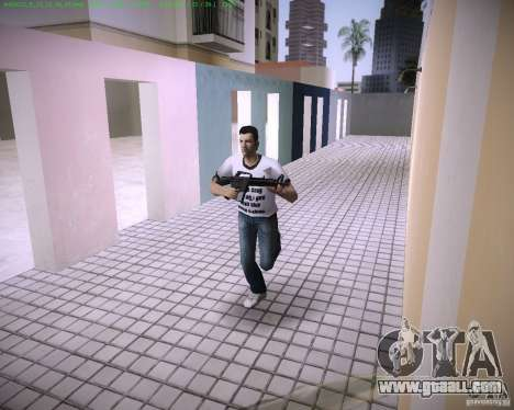 New M4 for GTA Vice City third screenshot