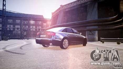 Audi A6 v1.0 for GTA 4 back left view