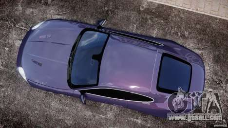 Jaguar XKR-S for GTA 4 right view