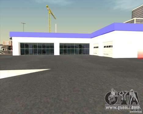 AMG showroom for GTA San Andreas third screenshot