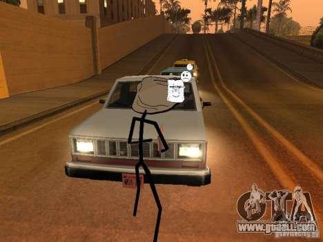 Meme Ivasion Mod for GTA San Andreas sixth screenshot