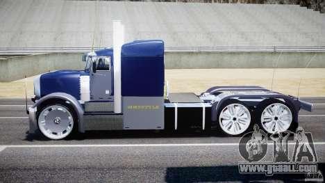 Peterbilt Truck Custom for GTA 4 inner view