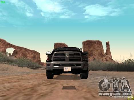 Dodge Ram 3500 Unmarked for GTA San Andreas side view