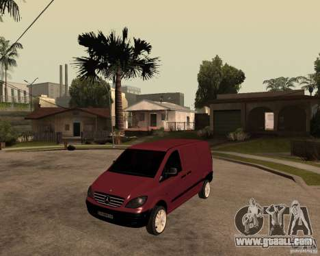 Mercedes-Benz Vito 2009 for GTA San Andreas