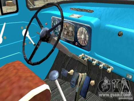 ZIL 431410-130 Final for GTA 4 inner view