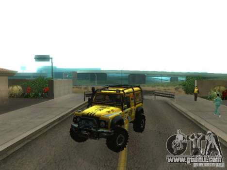 Land Rover Defender Off-Road for GTA San Andreas