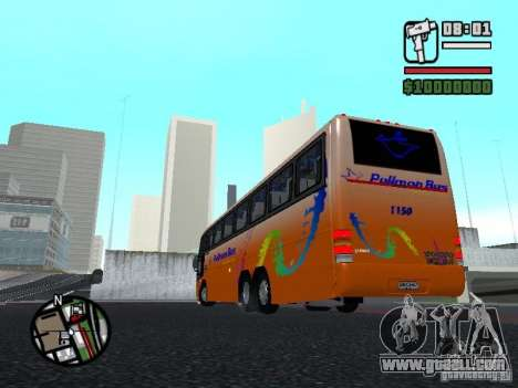 Marcopolo Paradiso GV 1150 Volvo B10M for GTA San Andreas back left view