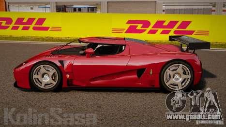 Koenigsegg CCGT Stock for GTA 4 left view