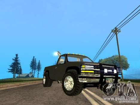 Chevrolet Silverado 2012 for GTA San Andreas