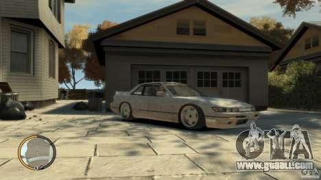 Nissan Silvia s13 Drifted v1.0 for GTA 4