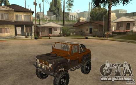 Land Rover Defender Extreme Off-Road for GTA San Andreas