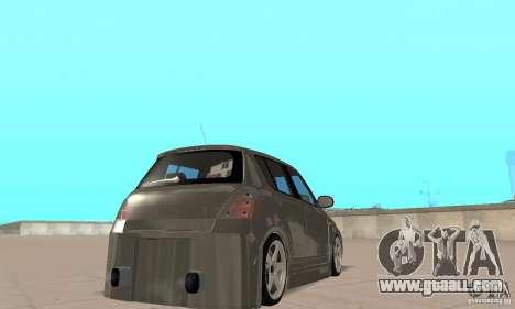 Suzuki Swift Tuning for GTA San Andreas left view
