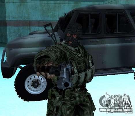 Stalker Shadow of Chernobyl SWAT OGSE for GTA San Andreas