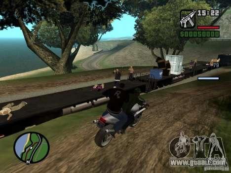 Great Theft Car V1.1 for GTA San Andreas sixth screenshot