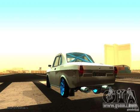 Gaz Volga 2410 Drift Edition for GTA San Andreas back left view