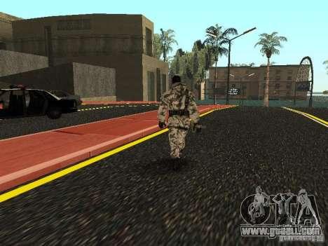 Arctic Avenger for GTA San Andreas third screenshot