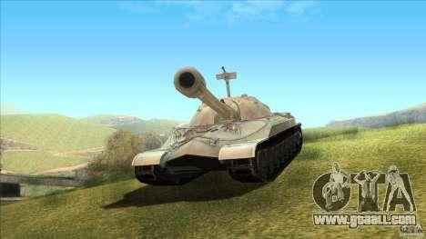 IS-7 Heavy Tank for GTA San Andreas