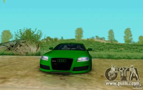 Audi RS6 OTIS for GTA San Andreas right view