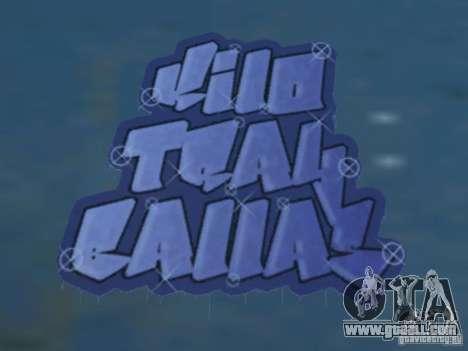 New LS gang tags for GTA San Andreas forth screenshot