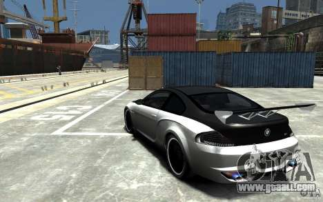 BMW M6 Tuning for GTA 4 back left view